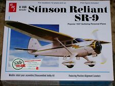 AMT 1937 Stinson Reliant SR-9 Aircraft Model Kit 1/48