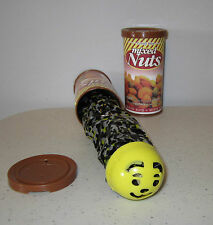 1 SNAKE IN A NUT CAN  SPRING LOADED TRICK NUTS GAG CLASSIC PRANK NOISE MAKER