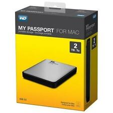 Western Digital My Passport for Mac USB 3.0 2TB External Hard Drive