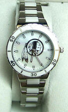 Washington Redskins Mother of Pearl Watch Game Time Womens Pearl Wristwatch