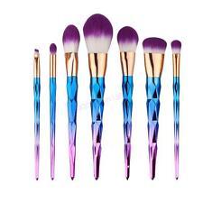 Pro 7PCS UniCorn Kabuki Makeup Brush Set Cosmetic Foundation Face Powder Brushes