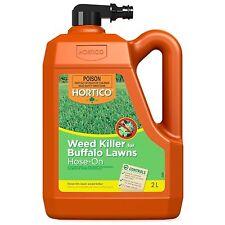 Hortico WEED KILLER FOR BUFFALO LAWNS Hose On 2L Controls Broadleaf *Aust Brand