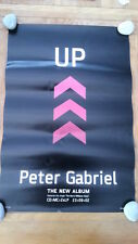 PETER GABRIEL 'Up'  Shop Display POSTER 20x30 inches