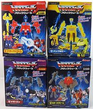 Transformers Kabaya Gum Block Wars Prime Megatron Starscream Bumblebee Set New