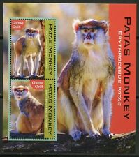 GHANA 2016 PATAS MONKEY SOUVENIR SHEET MINT NH