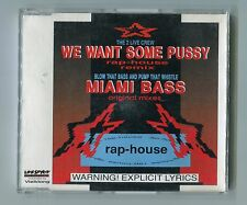 2 Live Crew cd-maxi WE WANT SOME PUSSY Blow That Bass MIAMI BASS rap house remix