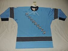 NWT AUTH. ANDY BATHGATE 9 67-68 PITTSBURGH PENGUINS MITCHELL & NESS JERSEY 56 3X