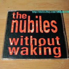 The Nubiles - Without Waking CD Single 3Trk RARE #12-1