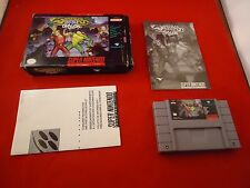 Battletoads/Double Dragon The Ultimate Team Super Nintendo SNES 1993 COMPLETE E1