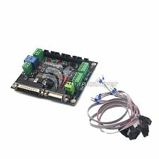 4-Axis Interface CNC Control MACH3 Card Breakout Board f/ Engraving NCStudio