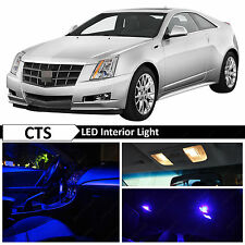 16x Blue Interior LED Light Package Kit for 2008-2013 Cadillac CTS CTS-V + TOOL