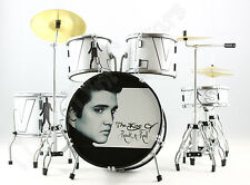 Miniature Drum Kit Set ELVIS PRESLEY