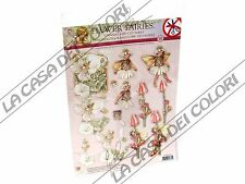 FLOWER FAIRIES 3D - SOGGETTI FUSTELLATI PER DECOUPAGE 3D - N. 18