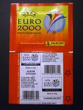 BUSTINA PACKET SOBRE PANINI UEFA EURO 2000 ED. 2 STELLE/STARS A DESTRA/RIGHT