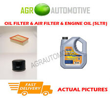 Filtro Aire Aceite Gasolina + ll 5W30 Aceite Para Renault Scenic XMOD 1.6 110 BHP 2013 -
