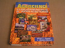 Agriscience Fundamentals & Applications - 2002 3rd Ed. Cooper & Burton Textbook
