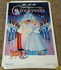 CINDERELLA Movie Poster 1 Sheet R87 Original 27x41, Disney, Rolled