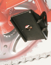 Hebie retro-fit kickstand support plate for bikes with no plate