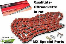 Red 520 Motocross OFF ROAD CHAIN Motorbike HONDA CRF 250 450 CR 125 250 500