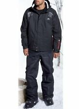 Mens Trespass 'Mercade' Ski Jacket Black Small Waterproof Breathable Windproof