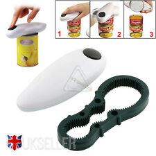 One Touch Automatic Electric Can Tin Opener No Hands Battery Operated Kitchen UK