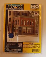"HO Woodland Scenics ""DPM Landmark Series"" 11300 * Carol's Corner Cafe kit * NIB"