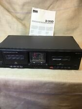 Sansui D-99D Double Cassette Deck  Needs Belts Free Fast Ship
