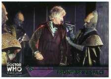 2016 Topps Doctor Who Timeless Green Foil Parallel #16 Frontier in Space