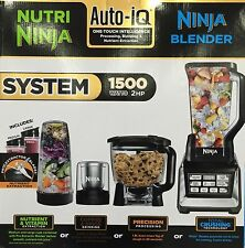 Nutri Ninja Blender System BL682UK with Auto-iQ 1500W Food Processor BRAND NEW!
