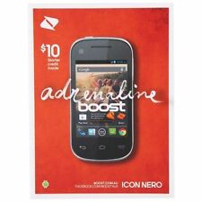 Boost ICON NERO B795 Black Mobile Phone *NEW* - expired Sim - BYO