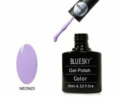 Bluesky UV LED Gel Summer Neon 23 Lavender Nail Polish 10ml