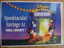 Poster: Disney Videos - Spooktacular Savings at Wal-Mart - Mickey Mouse 34 x 24