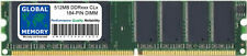 512MB DDR 400MHz PC3200 184-PIN DIMM MEMORY RAM FOR DESKTOPS/PCs/MOTHERBOARDS