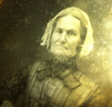 daguerreotype Of Granny With Bible In Hand Nice Clean Image