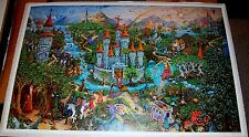MAGIC KINGDOM PC321 1984 Medieval Fantasy Art Poster Michael Fishel