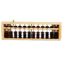 Wooden Math Abacus Arithmetic Soroban Calculating Tool ,Educational Toy XW チ