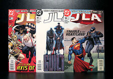 COMICS: DC: JLA #80-82 (2003) set - RARE (figure/batman/flash/justice league)