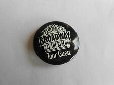 Vintage Broadway at the Beach Tour Guest Myrtle Beach Mall Advertising Pinback