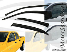 4pcs Visor Rain Guards Toyota Matrix 2003 2004 2005 2006 2007 2008 4-Door Wagon