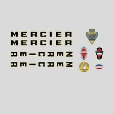 Mercier Bicycle Frame Stickers - Decals - Transfers n.03