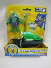 New! FISHER PRICE Imaginext K. CROX & SWAMP SKI DC Super Figure Friends Batman