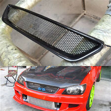 Carbon Fiber Frame Front Mesh Grill Grille for Lexus IS200 99-04