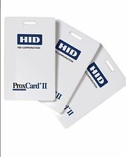 100 Keycards HID 1326 ProxCard II Access Control Cards 26 Bit 126 kHz