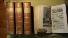 OEUVRES DE MOLIERE  Amsterdam 1766 Gravures hors texte