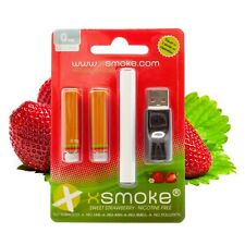 xsmoke® E - SHISHA STARTER KIT + STRAWBERRY LIQUIDS TO REFILL