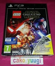 LEGO STAR WARS LE REVEIL DE LA FORCE SPECIAL EDITION SONY PS3 NEUF 100% FRANCAIS