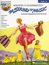 Beginning Piano Solo Play-Along The Sound Of Music Learn to Play Music Book