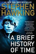 A BRIEF HISTORY OF TIME Big Bang Black Holes 50 Anniversary book Stephen Hawking