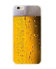 Cold Beer Pattern Design Ultra-thin TPU Phone Back Case Cover For iphone 6S PLUS