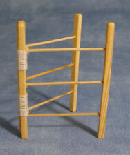 1:12 Scale Clothes Horse Dolls House Miniature Drying Clothes Towel Hanger
